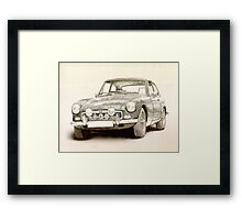 MG MGB MkII Framed Print