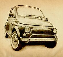 Fiat 500L 1969 by ArtPrints