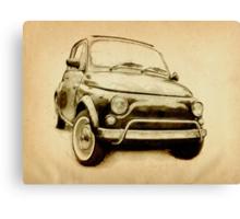 Fiat 500L 1969 Canvas Print