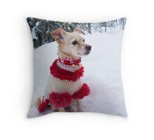 Princess - Santa's Little Helper Throw Pillow