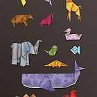 Origami Zoo by pixelvision