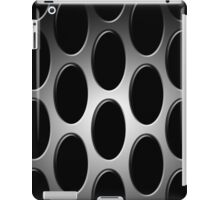 Screened in Black and Gray iPad Case/Skin