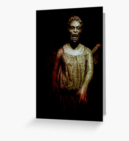 Flesh & Stone Greeting Card