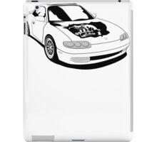 Mazda MX-6 (No Model Name) iPad Case/Skin