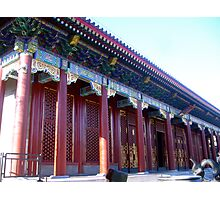 typical chinese palace Photographic Print