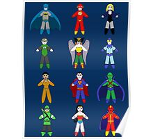 Justice League Dolls! Poster