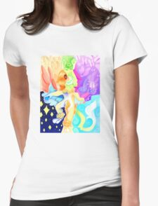 Fractured Womens Fitted T-Shirt