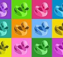 Rubber Ducks by Michael Tompsett