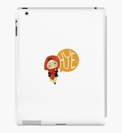 Hello People of the Earth iPad Case/Skin