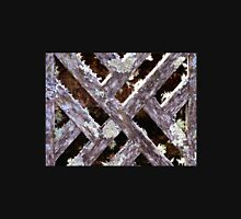 Abstract of Lichen on Lattice  Unisex T-Shirt