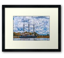 Peacemaker at Rest Framed Print