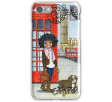 Meet me in England iPhone Case/Skin