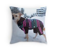 Welcome to my hoods! Throw Pillow