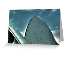 Sydney Opera House - HDR Greeting Card