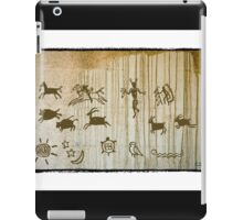 Ancient Petroglyph Southwest Drawings iPad Case/Skin