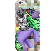 Yoda on Horseback iPhone Case/Skin