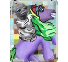 Yoda on Horseback iPad Case/Skin