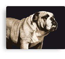 Bulldog Spirit Canvas Print