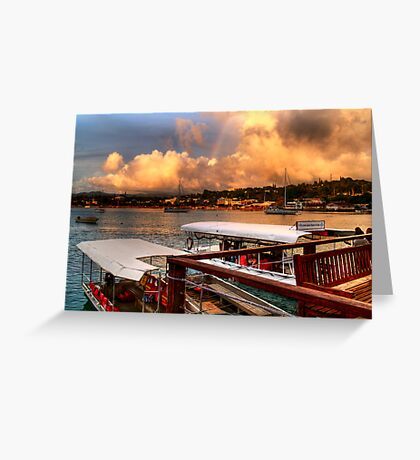 distance Greeting Card