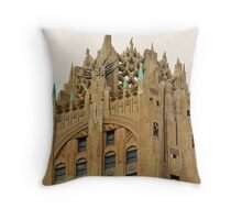 The Evil Headquarters Throw Pillow