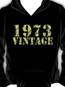 1973 Vintage 42nd Birthday T-Shirt