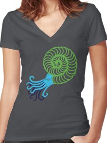 Amm-O-Nite Women's Fitted V-Neck T-Shirt