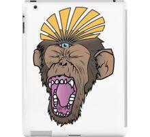 Enlightened Chimp iPad Case/Skin
