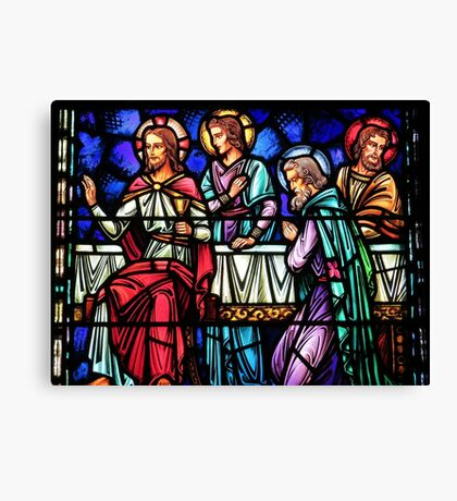 Friends With Jesus Canvas Print