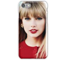 Taylor the Lady in Red  iPhone Case/Skin