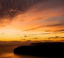 Golden Sunset by AndyCh
