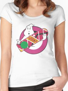 GHOST TO THE FUTURE Women's Fitted Scoop T-Shirt