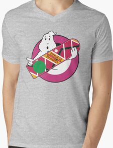 GHOST TO THE FUTURE Mens V-Neck T-Shirt