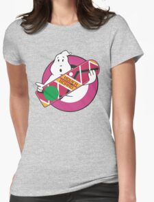 GHOST TO THE FUTURE Womens Fitted T-Shirt