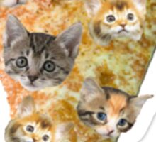 Cat Pizza Sticker