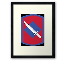 39th Infantry Brigade Combat Team (United States) Framed Print
