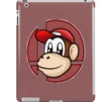 Super Smash Bros. 8-Bit (~ Diddy Kong ~) iPad Case/Skin