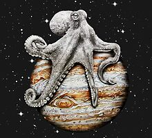 Celestial Cephalopod by jamesormiston