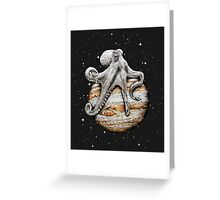 Celestial Cephalopod Greeting Card