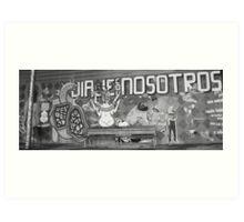 mahon graff Art Print