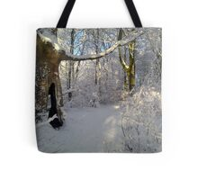 """""""Orchestral snowstorm"""" Tote Bag"""