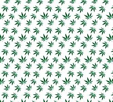 Really Really Small Weed Leafs by DorianDesigns