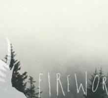 Fireworks- gospel. Sticker