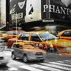 Cab meets Times Square by smilyjay