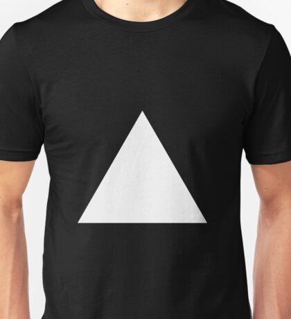 White Triangle Unisex T-Shirt