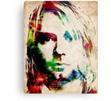 Kurt Cobain Urban Watercolor Metal Print