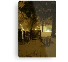 """Snowstorm"" Metal Print"