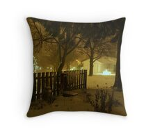"""""""Snowstorm"""" Throw Pillow"""