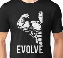Evolve Fitness Running Muscle BodyBuilding Unisex T-Shirt