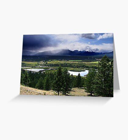 Kootenays Thunderstorm Greeting Card