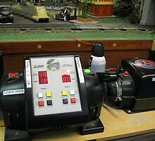 Antique model train transformers  by kevin seraphin